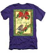 Xmas Around The World 2 Men's T-Shirt (Athletic Fit)