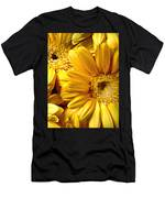 Yellow Daisies Men's T-Shirt (Athletic Fit)