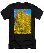 Yellow Maple Men's T-Shirt (Athletic Fit)