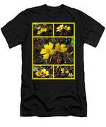 Yellow Oxalis - Oxalis Spiralis Vulcanicola Men's T-Shirt (Athletic Fit)