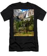 Yosemite Apple Orchard  Men's T-Shirt (Athletic Fit)
