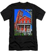0001 The House Men's T-Shirt (Athletic Fit)