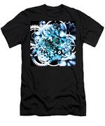 Gears Wheels Design  Men's T-Shirt (Athletic Fit)