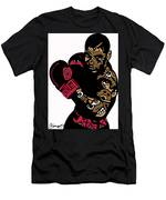 Mike Tyson Full Color Men's T-Shirt (Athletic Fit)