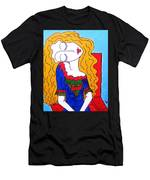 Not Picasso's Girl Men's T-Shirt (Athletic Fit)