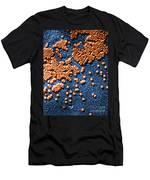 Hepatitis Virus Men's T-Shirt (Athletic Fit)