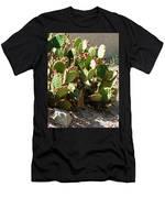 Arizona Prickly Pear Cactus Men's T-Shirt (Athletic Fit)