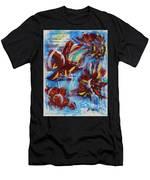 Artful Fireworks Men's T-Shirt (Athletic Fit)