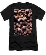 Assorted Champagne Corks Men's T-Shirt (Athletic Fit)