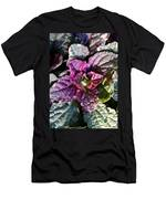 Burgundy Glow Bugleweed Men's T-Shirt (Athletic Fit)