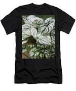 Caladium Named White Christmas Men's T-Shirt (Athletic Fit)
