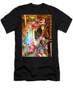 Carousel Dragon Men's T-Shirt (Athletic Fit)