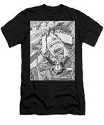 Clash With Reality Men's T-Shirt (Athletic Fit)
