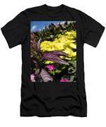 Color Of Purple Men's T-Shirt (Athletic Fit)