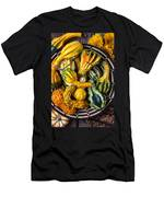 Colorful Gourds In Basket Men's T-Shirt (Athletic Fit)
