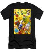 Colorful Marbles Two Men's T-Shirt (Athletic Fit)