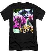 Containers Of Mixed Iris At The Farmer's Market Men's T-Shirt (Athletic Fit)