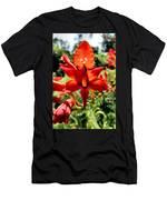 Crocosmia Men's T-Shirt (Athletic Fit)