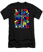 Cross No 9 Men's T-Shirt (Athletic Fit)