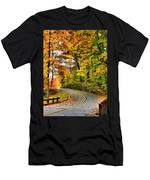 Curve In The Road Men's T-Shirt (Athletic Fit)
