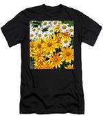 Daisy Garden Men's T-Shirt (Athletic Fit)