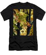 Dazzling Days Of Autumn Men's T-Shirt (Athletic Fit)