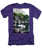 Docked At Sea Men's T-Shirt (Athletic Fit)