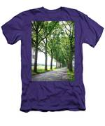 Dutch Country Road Men's T-Shirt (Athletic Fit)