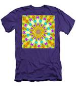 Easter Kaleidoscope  Men's T-Shirt (Athletic Fit)