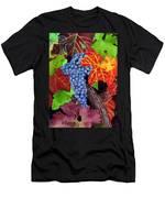 Fall Cabernet Sauvignon Grapes Men's T-Shirt (Athletic Fit)