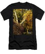 Fall Color Wall Art Landscape Men's T-Shirt (Athletic Fit)