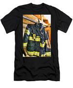 Fireman - Saftey Jacket Men's T-Shirt (Athletic Fit)
