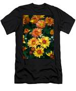 First Fall Mums Men's T-Shirt (Athletic Fit)