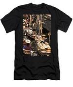 Floating Market Bangkok Men's T-Shirt (Athletic Fit)