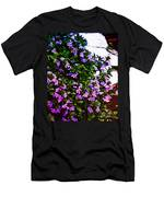 Flowers On The Hill Men's T-Shirt (Athletic Fit)