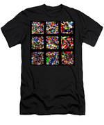 Fractured Squares Men's T-Shirt (Athletic Fit)
