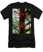 Garland Of Autumn Men's T-Shirt (Athletic Fit)