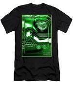 Green Chrome Men's T-Shirt (Athletic Fit)