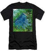 House In The Woods Art Men's T-Shirt (Athletic Fit)