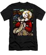 Jesus Stained Glass Men's T-Shirt (Athletic Fit)