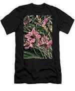 Meadow Sunrise Men's T-Shirt (Athletic Fit)