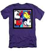 Mickey Colors Men's T-Shirt (Athletic Fit)