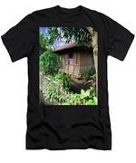 Minahasa Traditional Home 1 Men's T-Shirt (Athletic Fit)