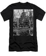 Moscow: Military Parade Men's T-Shirt (Athletic Fit)
