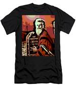 Moses And The 10 Commandments Men's T-Shirt (Athletic Fit)