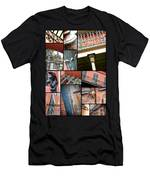 New Orleans Collage 1 Men's T-Shirt (Athletic Fit)