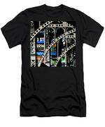 New York Abstract 1 Men's T-Shirt (Athletic Fit)