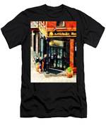 New York Pizzeria Men's T-Shirt (Athletic Fit)