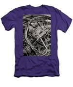 No More Plowing Men's T-Shirt (Athletic Fit)