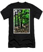 On Our Way Chasing The Eternal Flame At Chestnut Ridge Park Men's T-Shirt (Athletic Fit)